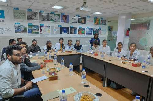 Visit to Essilor India Private Limited