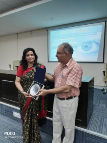 Guest Lecture by Prof. Namrata Sharma -