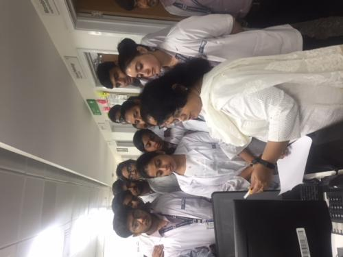 Visit to Aakash Super speciality hospital
