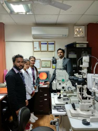 visit to rana eyecare
