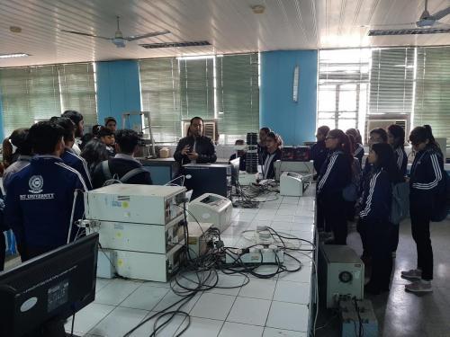 Industrial Visit to Jamia Hamdard-03