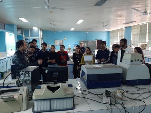 Industrial Visit to Jamia Hamdard-04