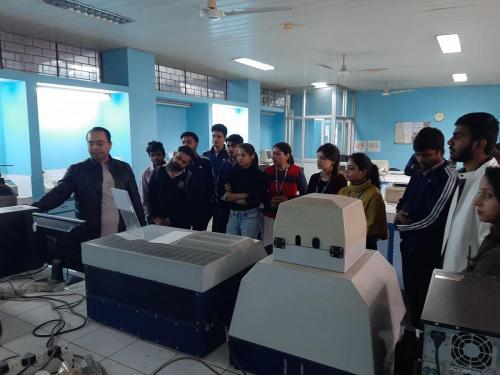 Industrial Visit to Jamia Hamdard-05