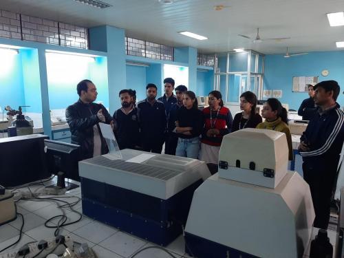 Industrial Visit to Jamia Hamdard-06