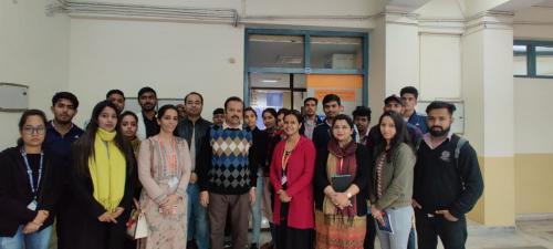 Industrial Visit to Jamia Hamdard-11