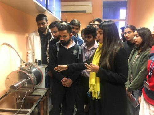 Industrial Visit to Jamia Hamdard-15
