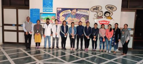 Visit to Parle-G-SGT-University-02