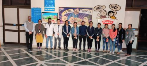 Visit to Parle-G-SGT-University-03