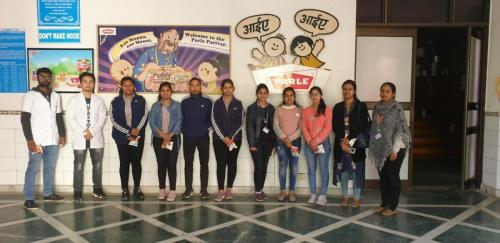 Visit to Parle-G-SGT-University-05